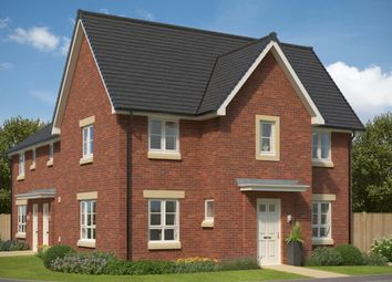 """Thumbnail 3 bedroom end terrace house for sale in """"Abergeldie"""" at Castlelaw Crescent, Bilston, Roslin"""