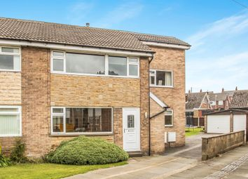 Thumbnail 4 bed semi-detached house for sale in Moor Knoll Close, East Ardsley, Wakefield