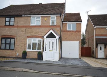 Thumbnail 3 bed semi-detached house for sale in Whitebeam Close, Narborough, Leicester