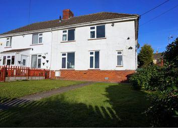 Thumbnail 4 bed semi-detached house for sale in Long Cross, Felton