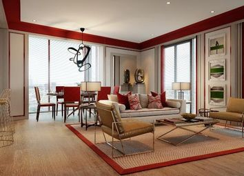 Thumbnail 2 bedroom flat for sale in Legacy Building 3, Embassy Gardens, Nine Elms, London