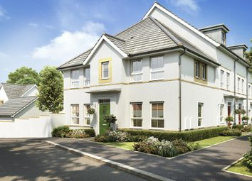 "Thumbnail 3 bedroom end terrace house for sale in ""Morpeth"" at Kergilliack Road, Falmouth"