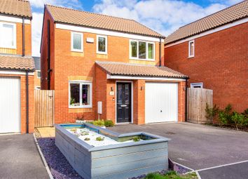 Thumbnail 3 bed detached house for sale in Centenary Way, Raunds, Wellingborough