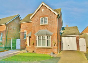 Thumbnail 3 bed detached house for sale in Willoughby Way, Rackheath, Norwich