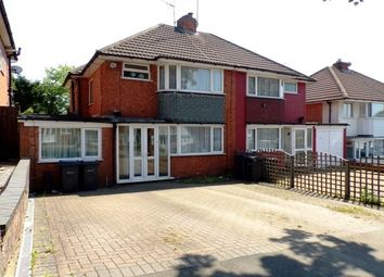 Thumbnail 3 bed semi-detached house to rent in Yarningale Road, Kings Heath, Birmingham