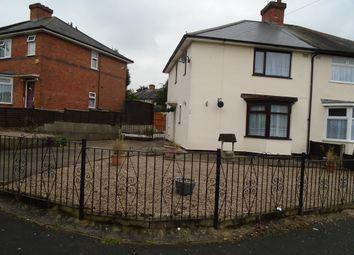 Thumbnail 3 bed semi-detached house to rent in Birchdale Road, Erdington, Birmingham