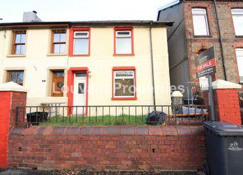 Thumbnail 3 bed end terrace house for sale in Dyffryn Road, Waunlwyd, Ebbw Vale, Blaenau Gwent.