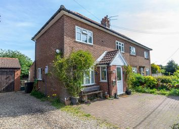 Thumbnail 3 bed semi-detached house for sale in Dereham Road, Colkirk, Fakenham