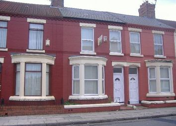 Thumbnail 3 bedroom terraced house to rent in Malvern Road, Kensington, Liverpool