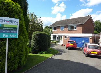 Thumbnail 4 bed detached house for sale in The Mount, Curdworth, Sutton Coldfield