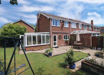 Thumbnail 3 bed end terrace house for sale in Plumtree Gardens, Calverton, Nottingham