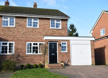 Thumbnail 3 bed semi-detached house for sale in Harwood Rise, Woolton Hill, Newbury
