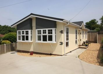 Thumbnail 2 bed bungalow for sale in Bashley Cross Road, New Milton, Hampshire