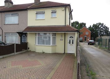 Thumbnail 3 bed end terrace house for sale in Heaton Avenue, Heaton Grange, Romford