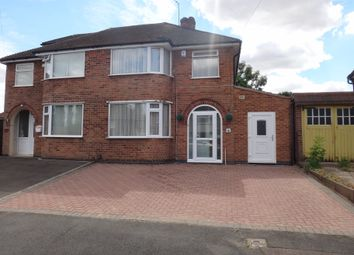 Thumbnail 3 bed semi-detached house for sale in Stonehurst Road, Braunstone, Leicester