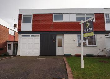Thumbnail 3 bed semi-detached house for sale in Priory Close, Tamworth