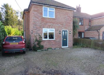 Thumbnail 4 bed semi-detached house for sale in The Turnpike, Bunwell, Norwich