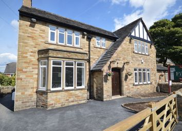 Thumbnail 5 bed detached house for sale in Church Lane, Clayton West, Huddersfield
