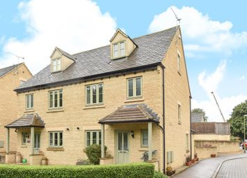 Thumbnail 4 bed semi-detached house for sale in Foxfield Court, Chipping Norton
