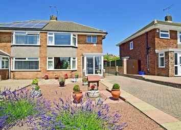 Thumbnail 3 bed semi-detached house for sale in Newitt Road, Hoo, Rochester, Kent