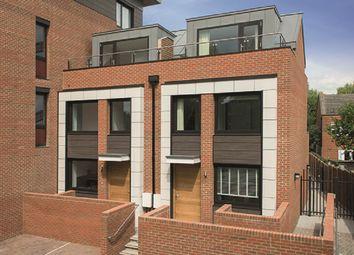 Thumbnail 3 bed town house for sale in Westfield Waterside, Knaresborough Drive, Earlsfield, London