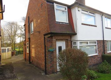 Thumbnail 3 bed semi-detached house for sale in Tewkesbury Drive, Nottingham