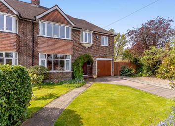Thumbnail 4 bed semi-detached house for sale in Hillmont Road, Hinchley Wood