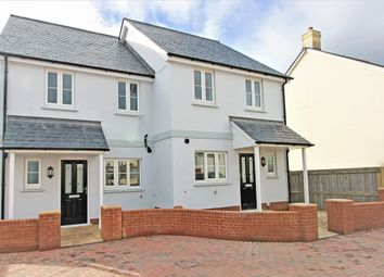 Thumbnail 2 bedroom semi-detached house for sale in Jackson Meadow, Lympstone, Exmouth