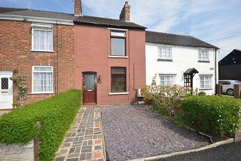 Thumbnail 2 bedroom terraced house to rent in Waterloo Road, Haslington, Cheshire