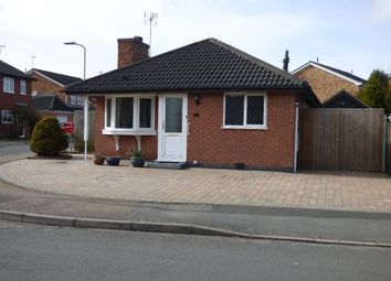 Thumbnail 2 bed detached bungalow for sale in The Fieldway, Broughton Astley, Leicester, Leicestershire