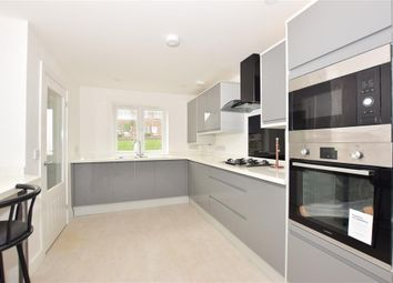 Thumbnail 2 bed end terrace house for sale in Old Folkestone Road, Aycliffe, Dover, Kent