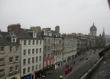 Thumbnail 2 bedroom flat to rent in 209 High Street, Edinburgh