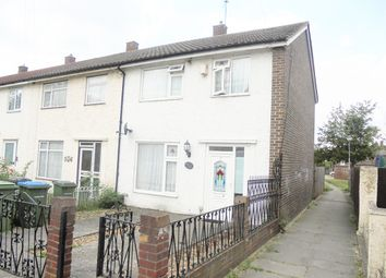 Thumbnail 3 bed end terrace house for sale in Finchale Road, Abbey Wood, London