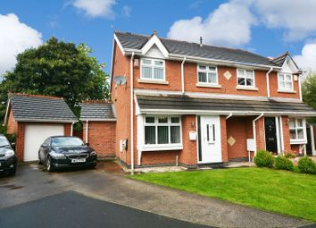 Thumbnail 3 bed semi-detached house for sale in Bronington Close, Northenden, Manchester