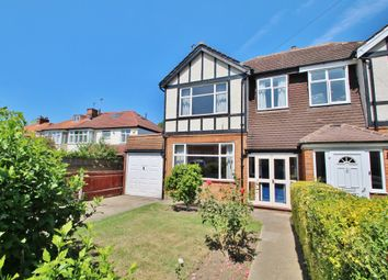 Thumbnail 3 bed semi-detached house for sale in Beresford Avenue, Berrylands, Surbiton