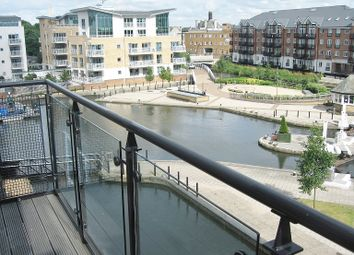 Thumbnail 2 bedroom flat for sale in Canute House, Durham Wharf Drive, Brentford