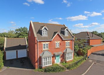 Thumbnail 5 bed detached house for sale in Windsor Close, Cullompton