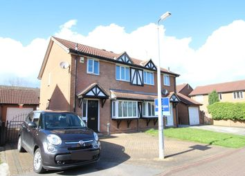 Thumbnail 3 bed semi-detached house for sale in Orkney Close, Hull