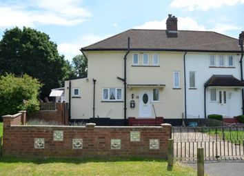 Thumbnail 2 bed semi-detached house for sale in Lacey Close, Egham