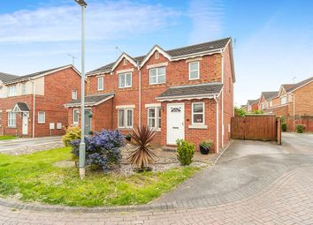 Thumbnail 3 bedroom semi-detached house for sale in Mast Drive, Victoria Dock, Hull