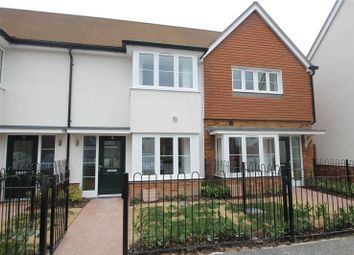 Thumbnail 2 bed terraced house to rent in Barge Walk, Wouldham, Rochester