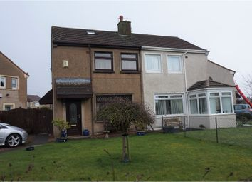 Thumbnail 2 bed semi-detached house for sale in Mayfield Road, Saltcoats