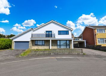 Thumbnail 4 bed detached house for sale in Parkdale View, Llantrisant, Pontyclun