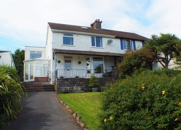 Thumbnail 4 bed semi-detached house to rent in Riversdale Road, Norton, Swansea