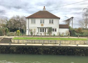 Thumbnail 3 bed detached house to rent in Towpath Waterside Dr, Walton On Thames