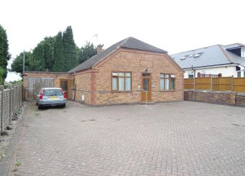 Thumbnail 3 bed detached bungalow for sale in Station Road, Ibstock, Leicestershire