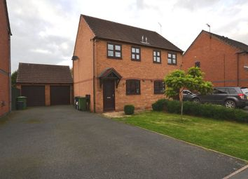Thumbnail 2 bed semi-detached house for sale in Meadow Close, Market Drayton