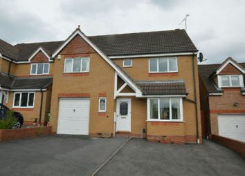 Thumbnail 4 bed detached house for sale in Sherard Way, Thorpe Astley, Leicester