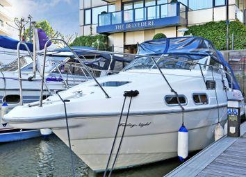 Thumbnail 2 bedroom houseboat for sale in Chelsea Harbour, Chelsea