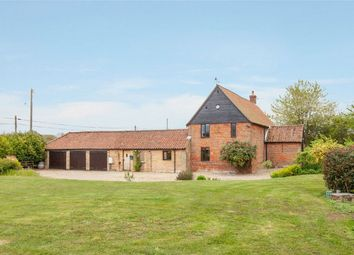 Thumbnail 6 bed barn conversion for sale in Folly Lane, Claxton, Norwich